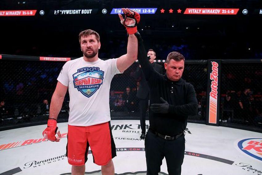 Стал известен следующий соперник Виталия Минакова