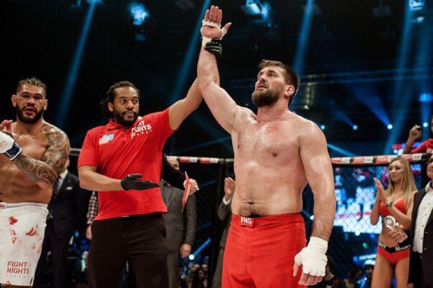 Виталий Минаков - Тони Джонсон на Fight Nights Global 82