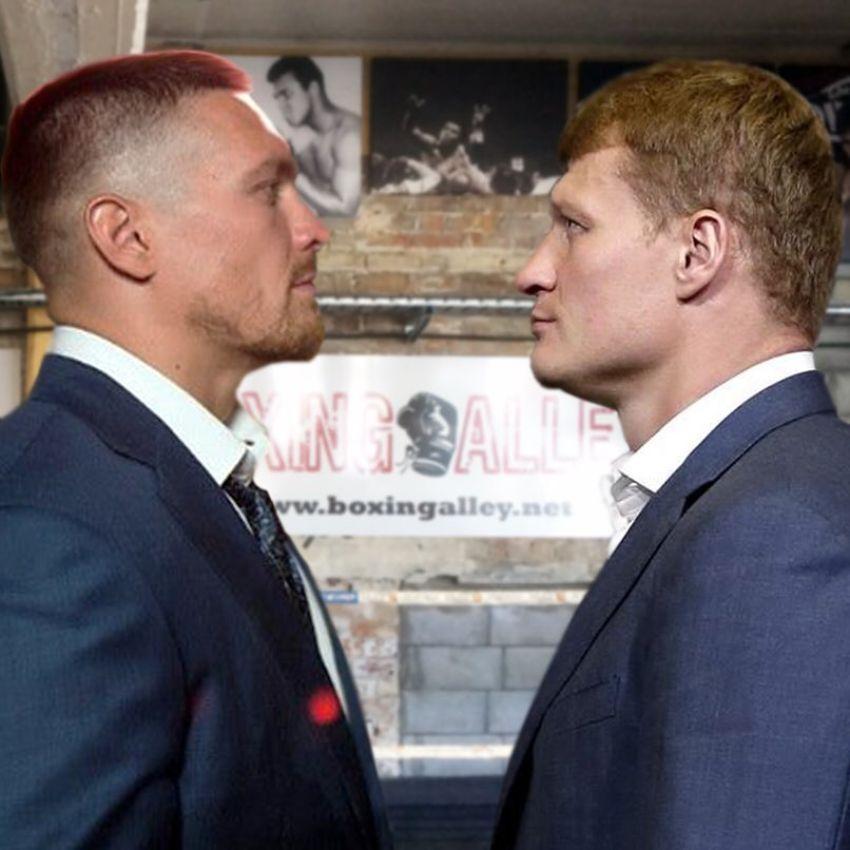 Усик отказался боксировать с Поветкиным из-за политики