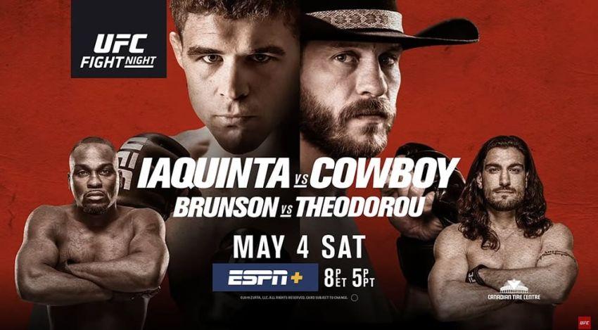 Результаты турнира UFC Fight Night 151: Эл Яквинта - Дональд Серроне