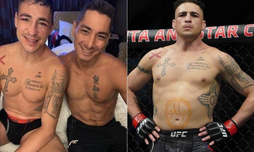 Diego Sanchez stopped working with Joshua Fabia.
