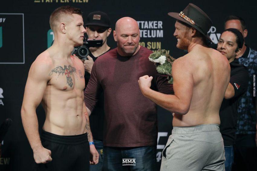 Видео боя Джим Крут - Сэм Алви UFC 234