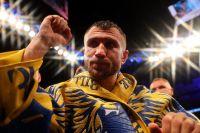 Василий Ломаченко поставил себе скромную оценку за бой с Кэмпбеллом