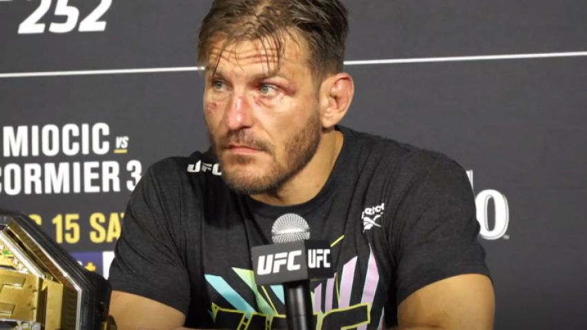 MMA news: Stipe Miocic commented on the UFC's decision to introduce a interim heavyweight title