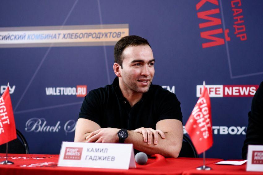 Камил Гаджиев оценил стоимость Fight Nights Global в $10 млн