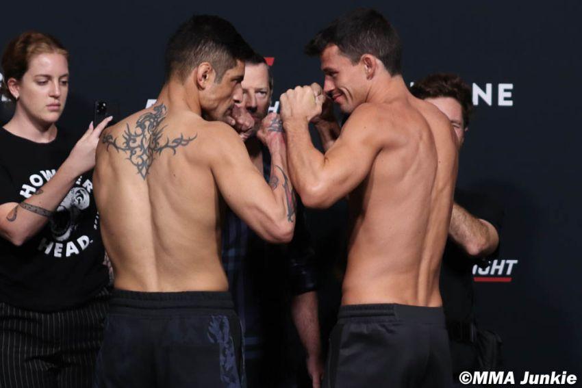 Видео боя Габриэль Бенитес - Билли Куарантилло UFC on ESPN 26