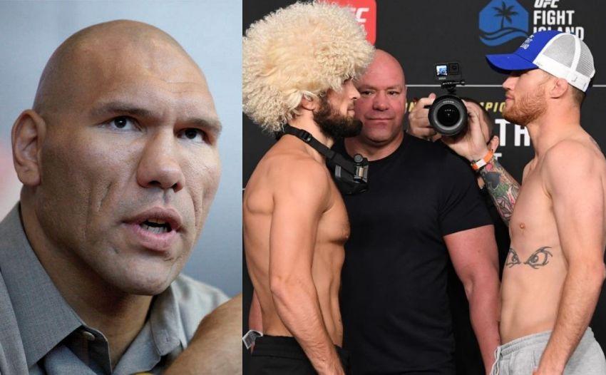 """Николай Валуев - о мэйн-ивенте UFC 254: """"После победы Хабиб будет самым прославленным бойцом в России"""""""