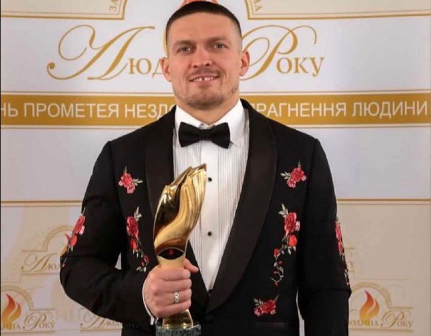 Александр Усик стал спортсменом года в Украине