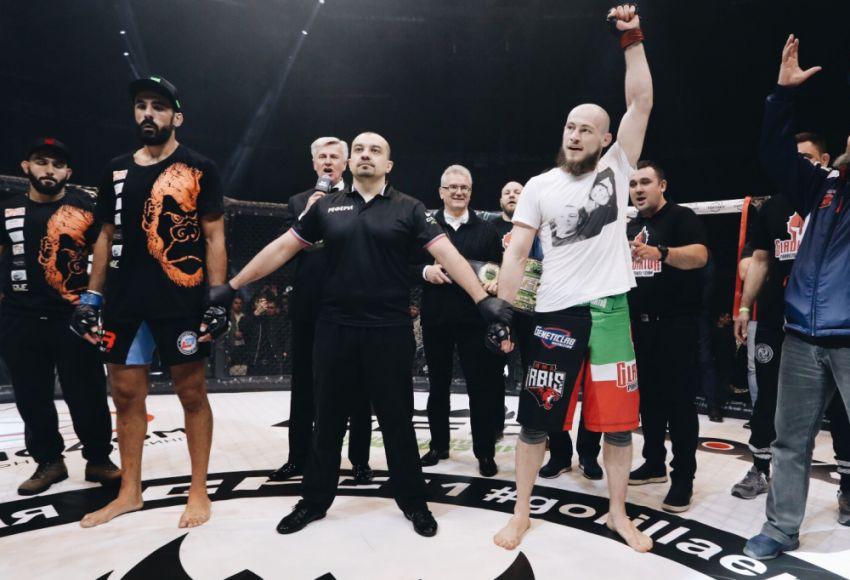 Результаты турнира GFC 11: Ринат Фахретдинов - Альберто Перейра