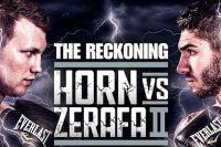 Официально: Джефф Хорн встретится в реванше с Майклом Зерафой 18 декабря в Брисбене