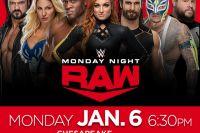 Прямая трансляция WWE Monday Night Raw Андраде – Рэй Мистерио