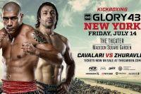 Видео турнира Glory 43 (полный ивент)