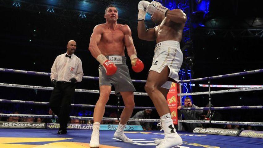 Владимир Кличко может стать соперником Энтони Джошуа 13 апреля в Лондоне?