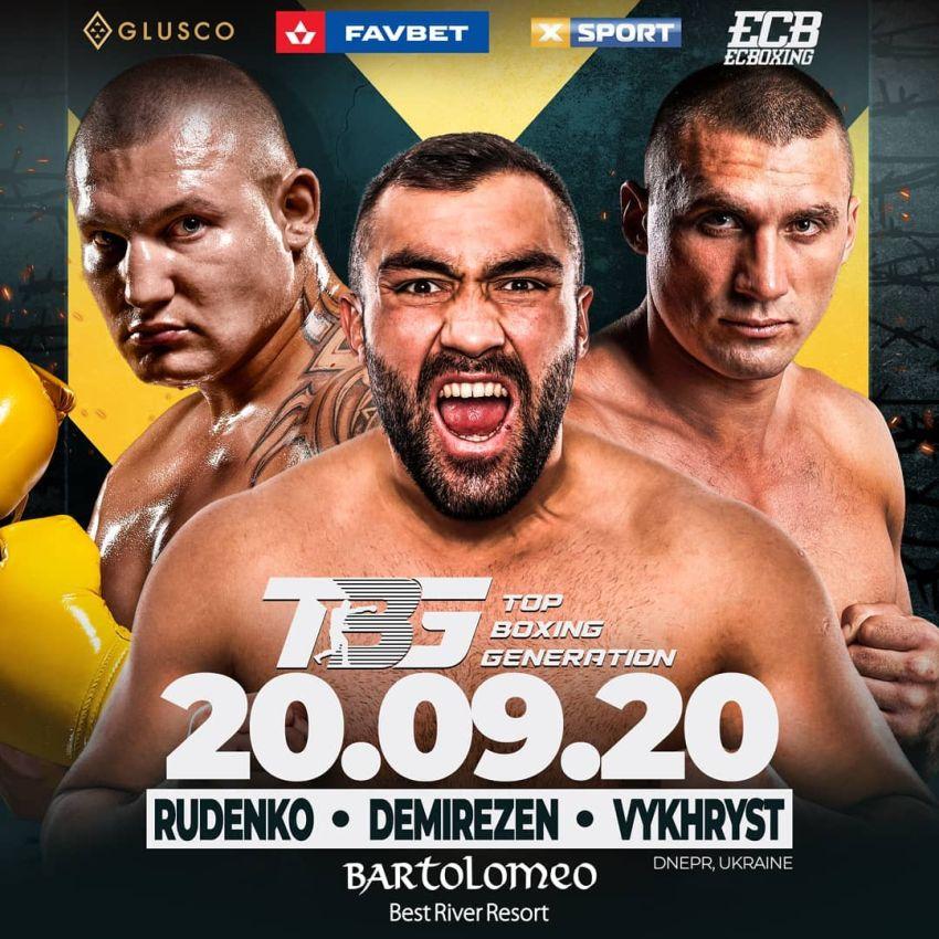 В Днепре состоится большой вечер бокса. В ринг выйдут два известных украинских супертяжа