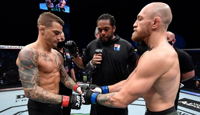 Tickets for UFC 264: Conor McGregor vs. Dustin Poirier 3 sold out in seconds.