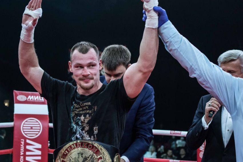 Алексей Егоров вернется на ринг 23-го декабря в Москве