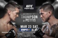 Видео боя Стивен Томпсон — Энтони Петтис UFC Fight Night 148