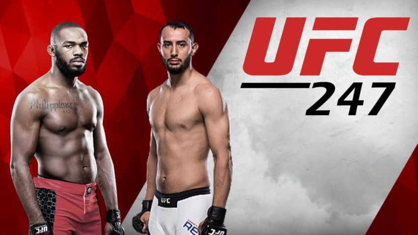 UFC 247 Джон Джонс – Доминик Рейес. Смотреть онлайн прямой эфир