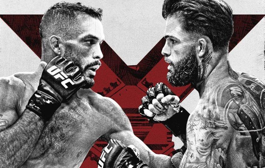 Файткард турнира UFC Fight Night 188