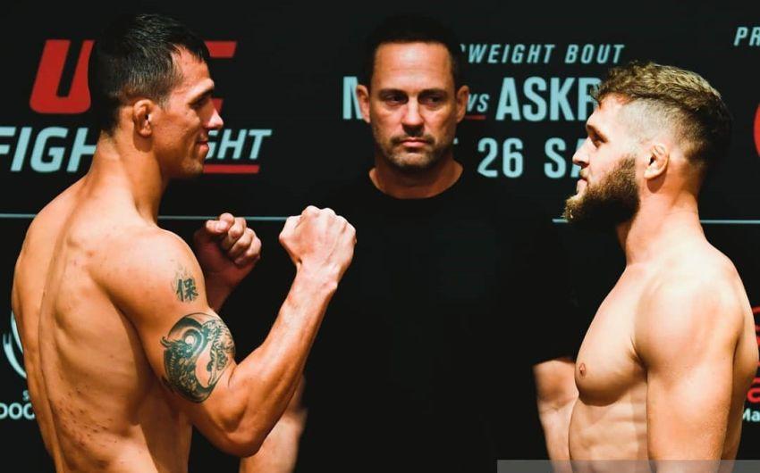 Видео боя Рафаэль Физиев - Алекс Уайт UFC Fight Night 162