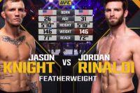 Видео боя Джейсон Найт - Джордан Риналди UFC 230