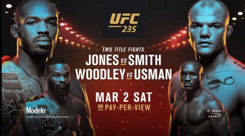 Прямая трансляция UFC 235: Джон Джонс – Энтони Смит