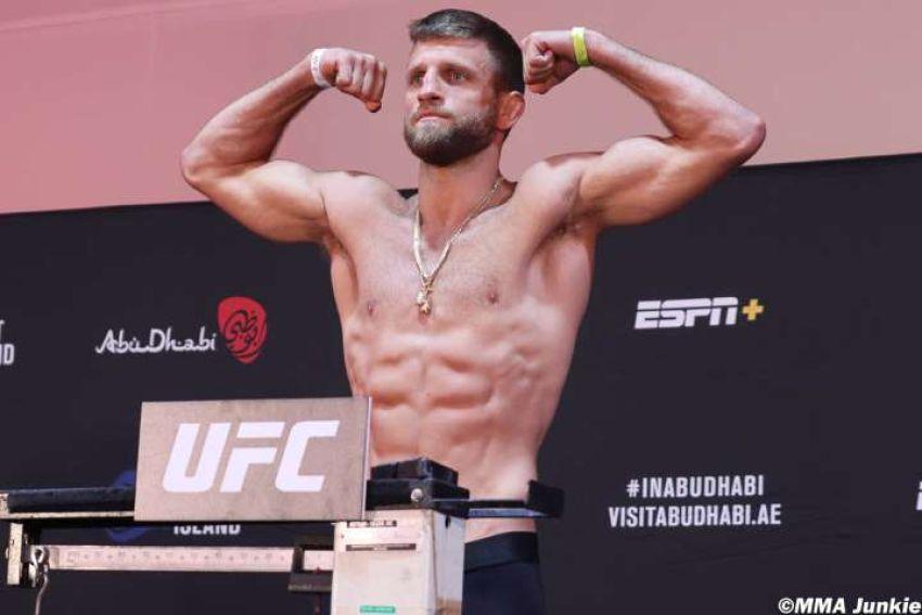 Результаты взвешивания турнира UFC on ESPN 13: Келвин Каттар - Дэн Иге