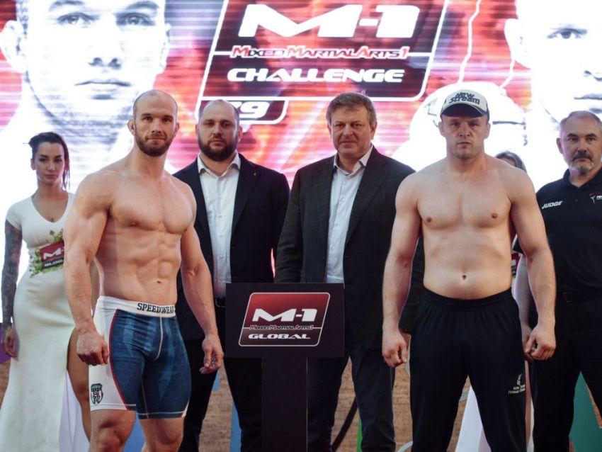 Результаты взвешивания M-1 Challenge 79: Шлеменко против Хэлси 2