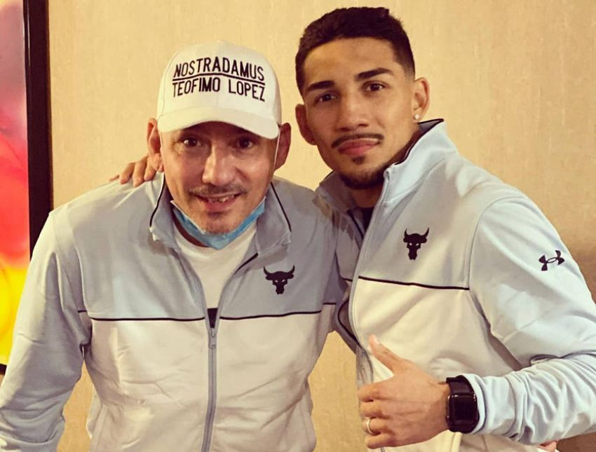 Teofimo Lopez Sr. told how he almost got into a fight with Mike Tyson