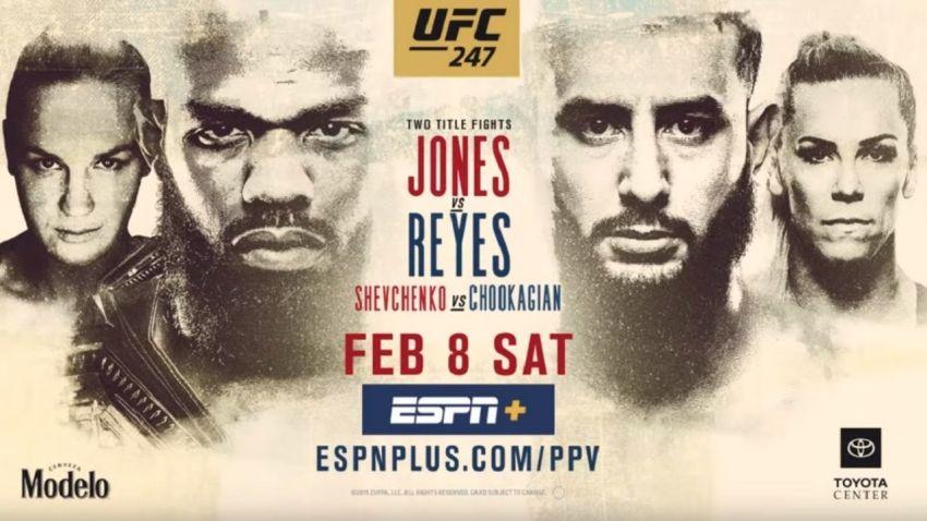 Джон Джонс - Доминик Рейес. Превью главного боя UFC 247