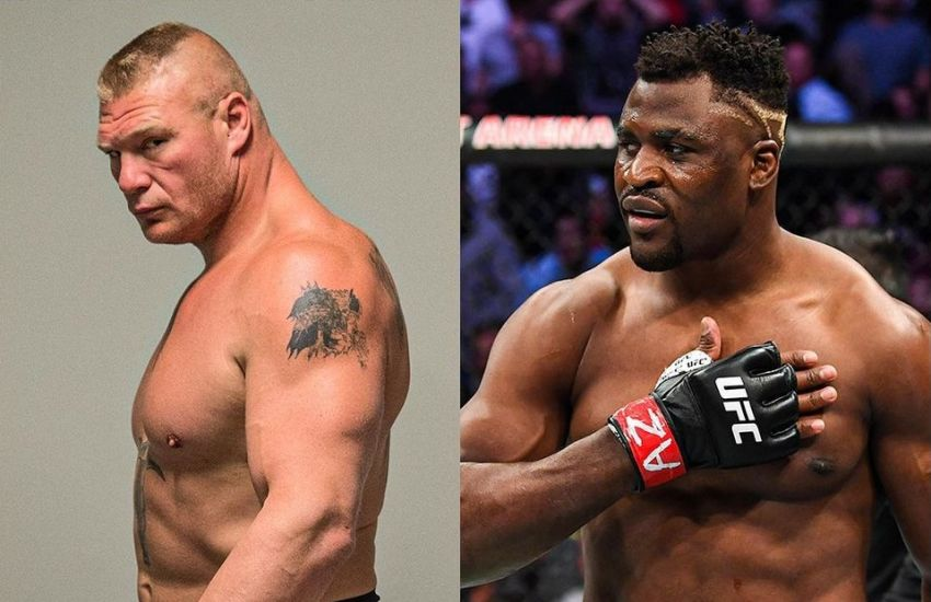 Daniel Cormier compared Francis Ngannou to Brock Lesnar.