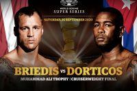 Майрис Бриедис и Юниер Дортикос сразятся в финале WBSS в конце сентября