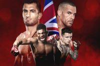 Файткард турнира Bellator London
