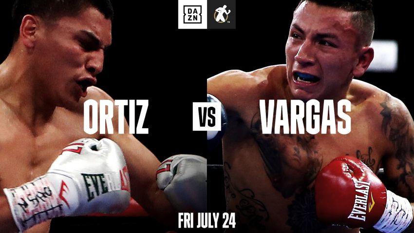 Официально: Верджил Ортис встретится с Самуэлем Варгасом 24 июля