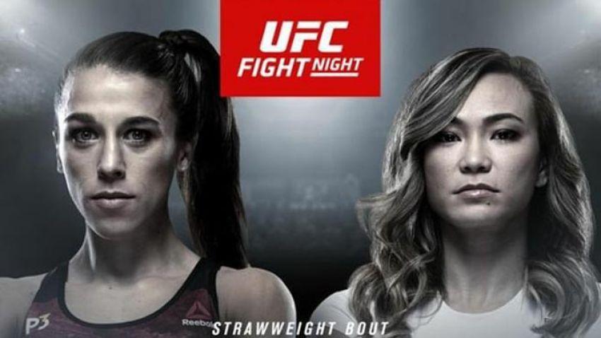 Прямая трансляция UFC on ESPN+ 19: Йоанна Енджейчик - Мишель Уотерсон