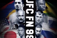 Результаты и бонусы UFC Fight Night 99