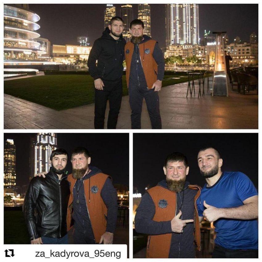 Хабиб Нурмагомедов поблагодарил Рамзана Кадырова за поддержку