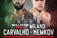 Прямая трансляция Bellator 230 и Bellator Milan: Рафаэль Карвальо - Вадим Немков
