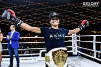Анисса Мексен защитила титул против Софии Олофссон на Glory 66