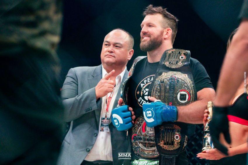 Райан Бейдер подписал новый контракт с Bellator