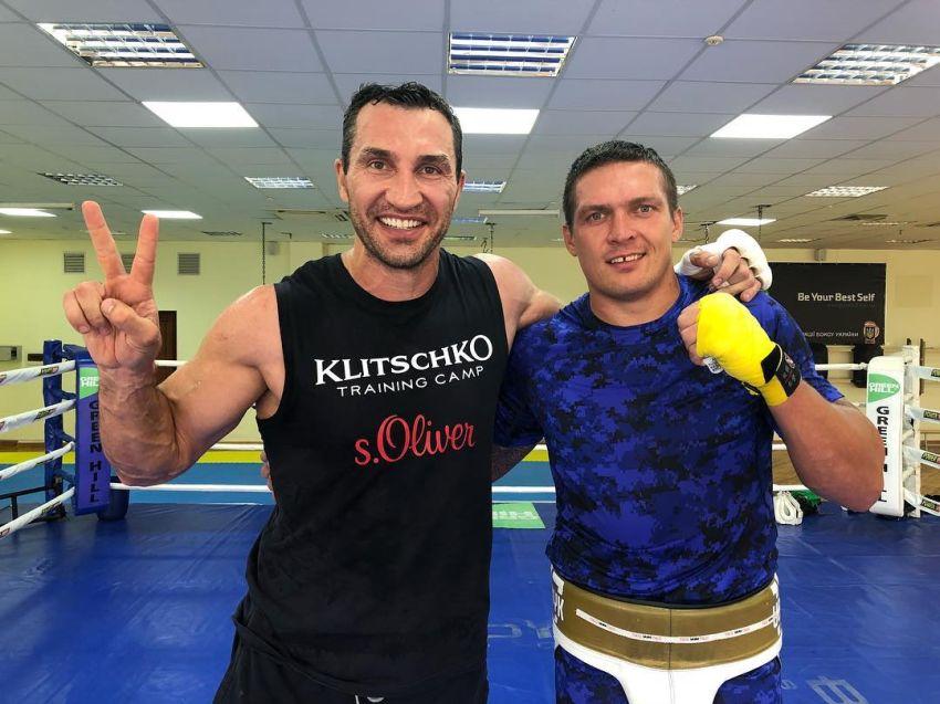 Джонни Нельсон рассказал о спарринге Александра Усика и Владимира Кличко