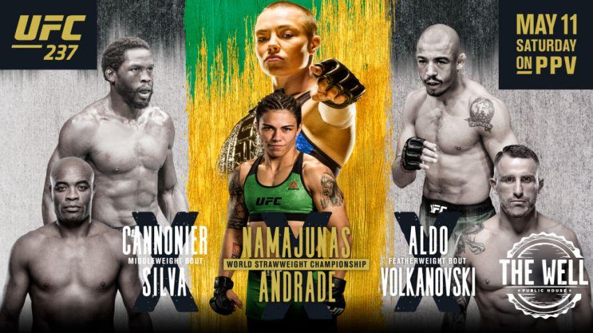 РП ММА №18 (UFC 237 / BELLATOR 221): 12 мая
