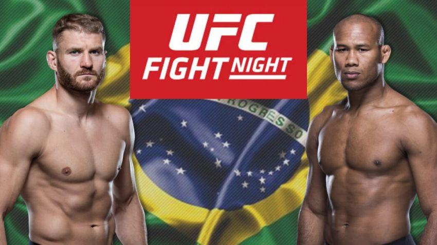 UFC Fight Night 164 Ян Блахович – Роналдо Соуза. Смотреть онлайн прямой эфир