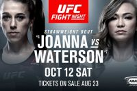 Ставки на UFC Fight Night 161: Коэффициенты букмекеров на турнир Йоанна Енджейчик - Мишель Уотерсон