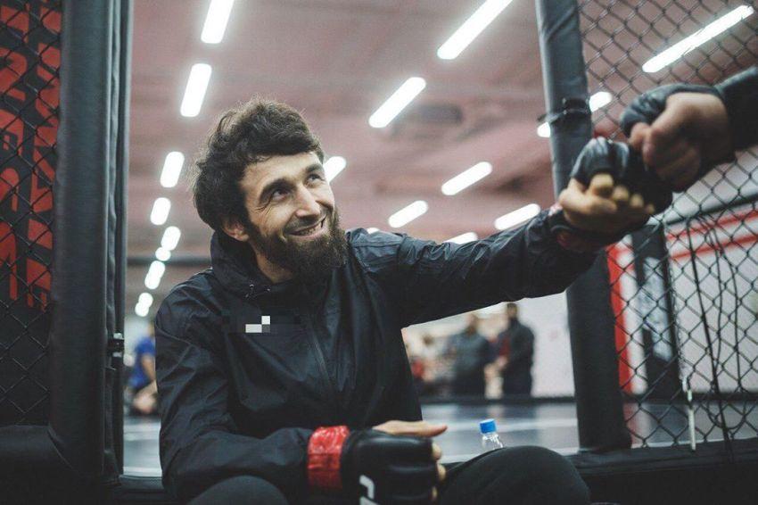 """Забит Магомедшарипов: """"Хочу забрать чемпионский пояс UFC"""""""
