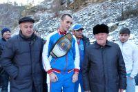 Олег Меньшиков: Муслим Гаджимагомедов новая звезда бокса в России