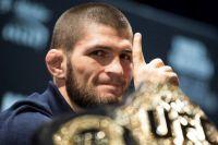 Хабиб Нурмагомедов поблагодарил фанатов за встречу в Москве перед UFC Fight Night 163