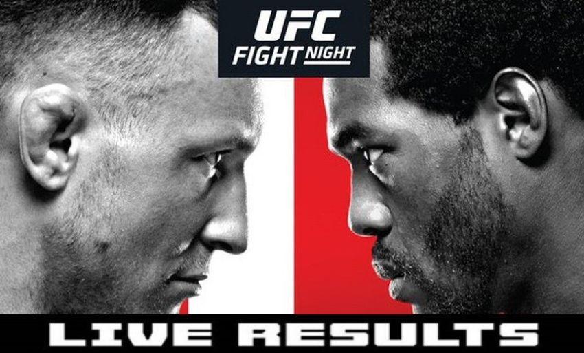 Результаты турнира UFC Fight Night 160: Джек Херманссон - Джаред Каннонье