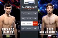 Видео боя Рикардо Рамос - Саид Нурмагомедов UFC Fight Night 144