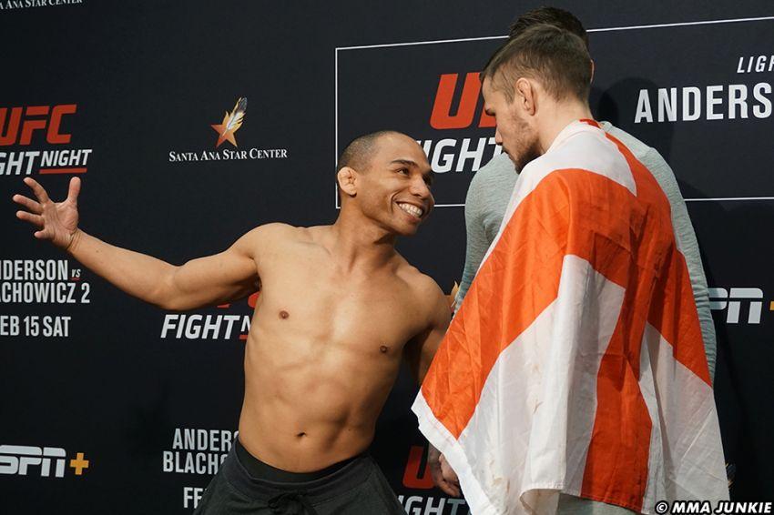 Видео боя Джон Додсон - Натаниэль Вуд UFC Fight Night 167